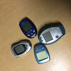 Glucose test meters